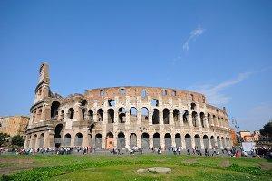 Roman Colosseum.