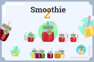 Smoothie drinks 2.0 (4 variants)