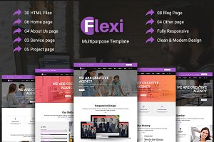 Flexi - Multipurpose HTML5 Template
