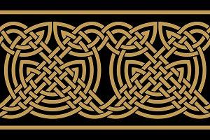 Celtic Seamless Border
