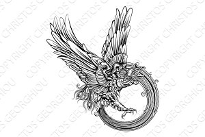 Phoenix bird or eagle