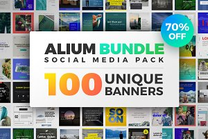 ALIUM BUNDLE | Social Media Pack