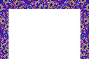 Modern Ornate Seamless Mosaic Pattern