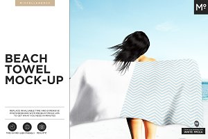 Beach Towel Mock-up