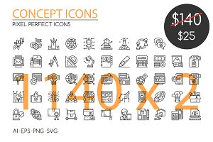 1140 CONCEPT ICONS