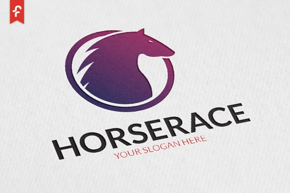 Horse Race Logo