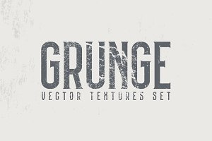 True Grunge Vector Textures
