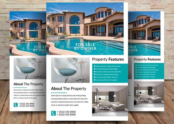 Luxury Sweet Homes Corporate Flyer