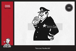 """Retro.Camp 0006 - """"PoliceMan 1940"""""""