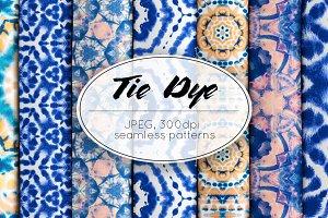 Tie Dye Pattern Set
