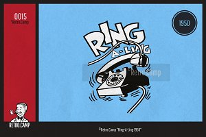 """Retro.Camp 0015 - """"Ring-A-Ling 1950"""""""