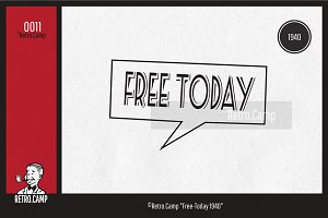 "Retro.Camp 0011 - ""Free-Today 1940"""