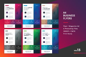 Corporate Flyer Templates 6PSD - #13