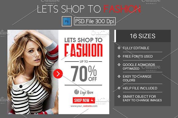 Shop To Fashion Advertisement