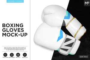 Boxing Gloves Mock-up