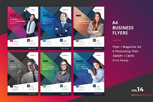 Corporate Flyer Templates 6PSD - #14