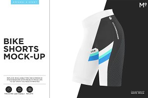 Bike Shorts Mock-up