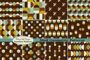 Mod Seamless Geometric Patterns