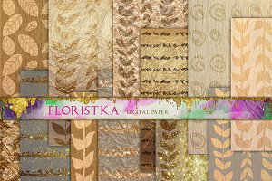 Gold Floral Pattern Download F-15