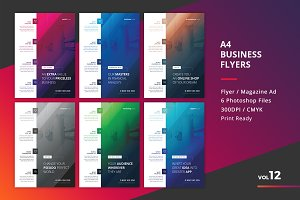 Corporate Flyer Templates 6PSD - #12