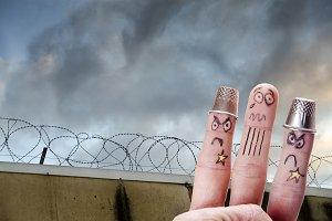 Prison fingers
