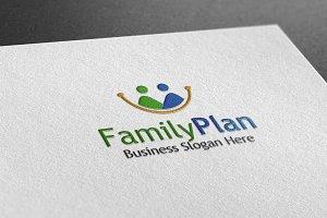 Family Plam Style Logo