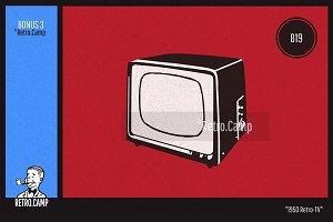 Retro.Camp B19 - Retro-TV