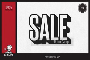 "Retro.Camp 0035 - ""SALE 1950"""