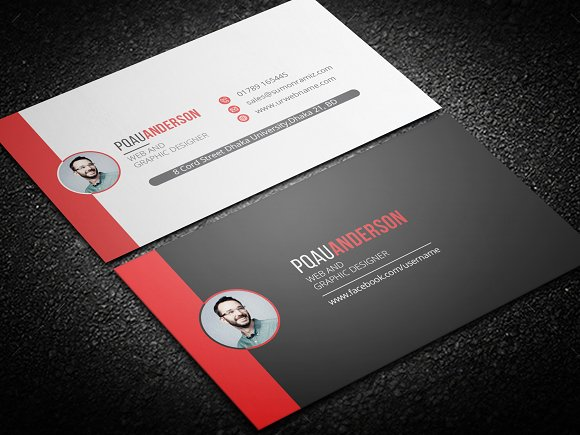 Personal business card business card templates creative market colourmoves Images