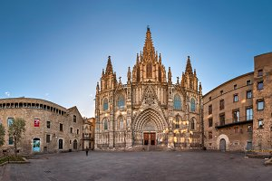 Cathedral of Holy Cross & St Eulalia
