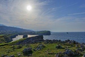 The coast in Buelna