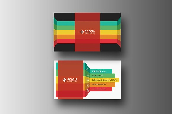 Infographic Business Card