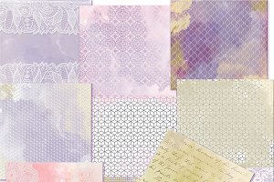 Pastel watercolor papers