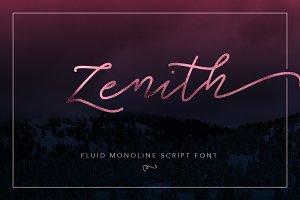 Zenith - Script Typeface