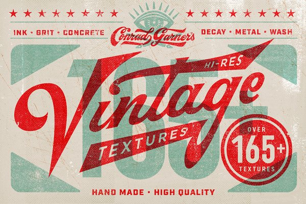 Conrad's Vintage Texture Pack