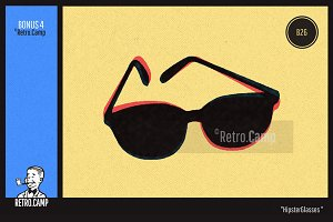 "Retro.Camp B26 - ""Hipster Glasses"""