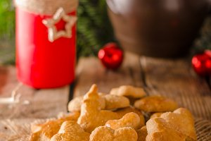 Christmas candy, cookies