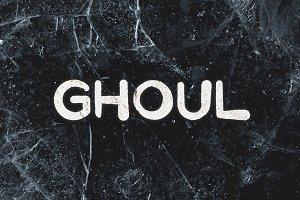 Ghoul - Brush Font