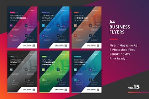 Corporate Flyer Templates 6PSD - #15