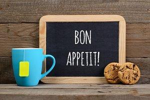 Wishes bon appetit