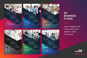Corporate Flyer Templates 6PSD - #26