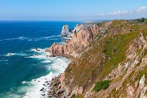 Cabo da Roca cape, Portugal