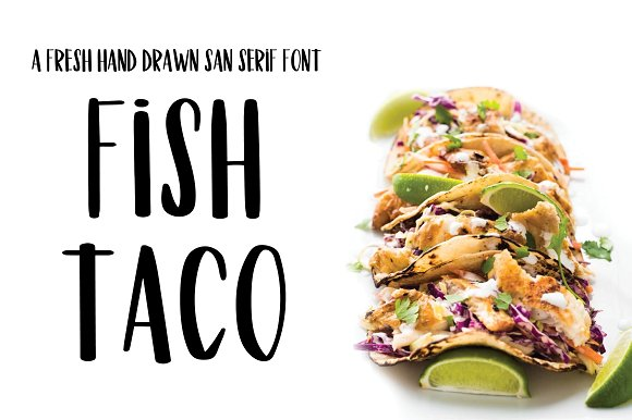 Fish Taco Font