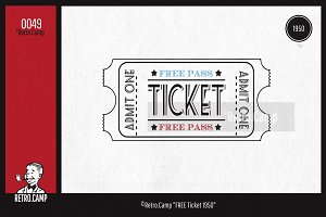 "Retro.Camp 0049 - ""FREE Ticket 1950"""