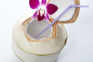 Fresh Coconut Water Drink