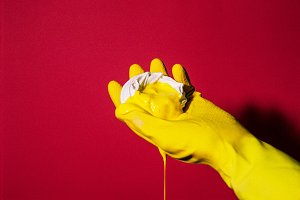 Red + Yellow Meringue