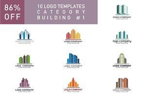 10 Logo Set - Building