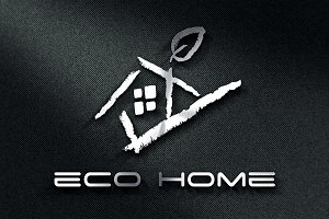 ECO HOME LOGO TEMPLATE