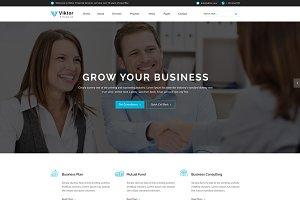 Viktor - WordPress Template