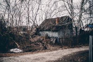 Abandoned summer house